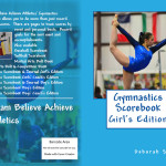 DBA Athletics Girls Artistic Gymnastics Scorebook