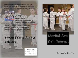 DBA Athletics Martial Arts Belt Journal